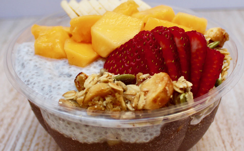 有机巴西莓碗